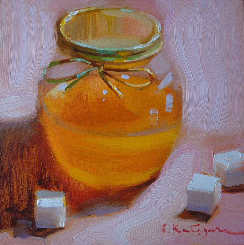 """Sugar Cubes"" original fine art by Elena Katsyura"
