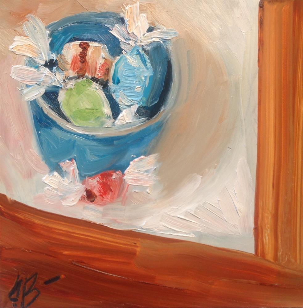 """A Bit of Taffy"" original fine art by Annette Balesteri"