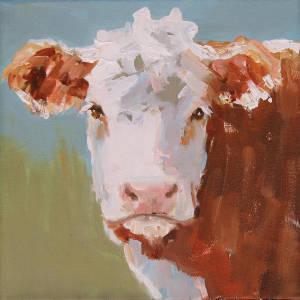 """gertrude"" original fine art by Carol Carmichael"