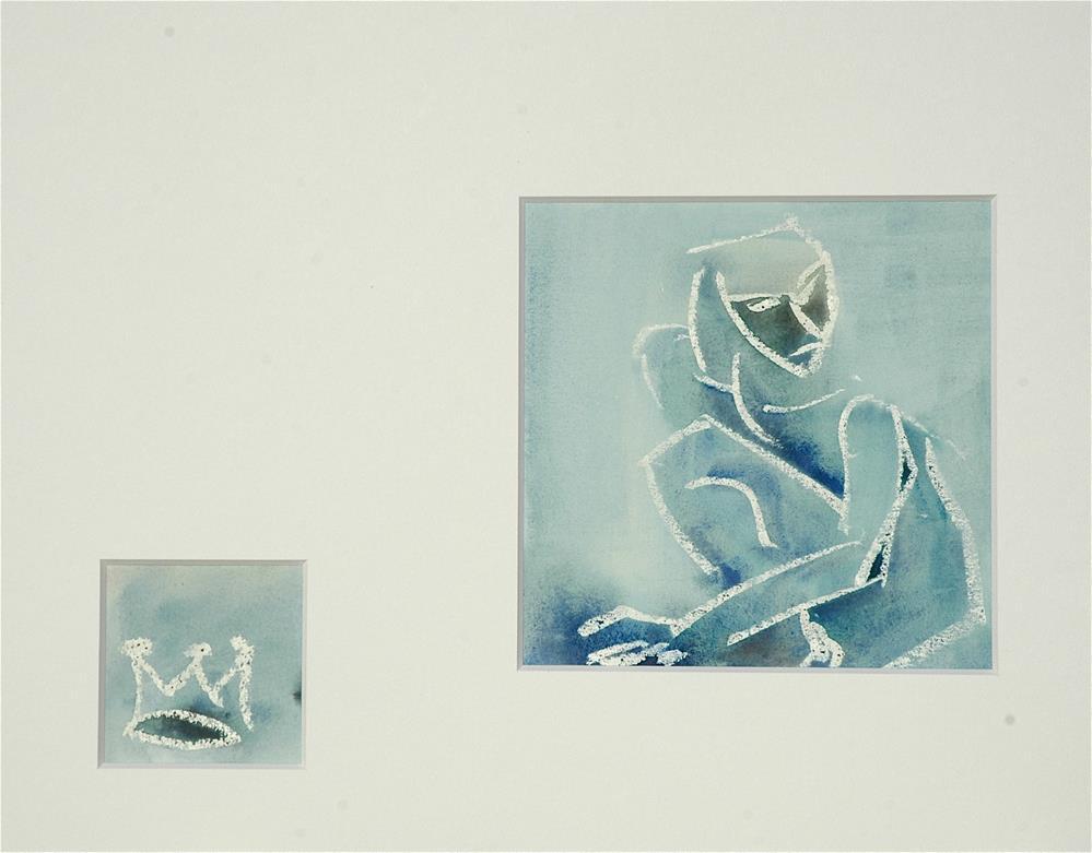 """""""Hamlet"""" original fine art by Ulrike Schmidt"""