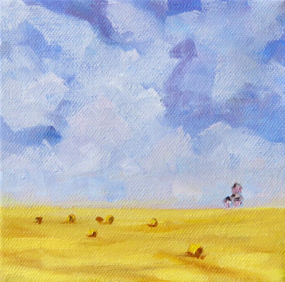 """Prairie Day"" original fine art by Deborah Czernecky"