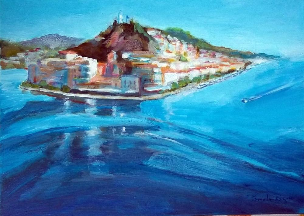 """Floating Poros II"" original fine art by Pamela Jane Rogers"