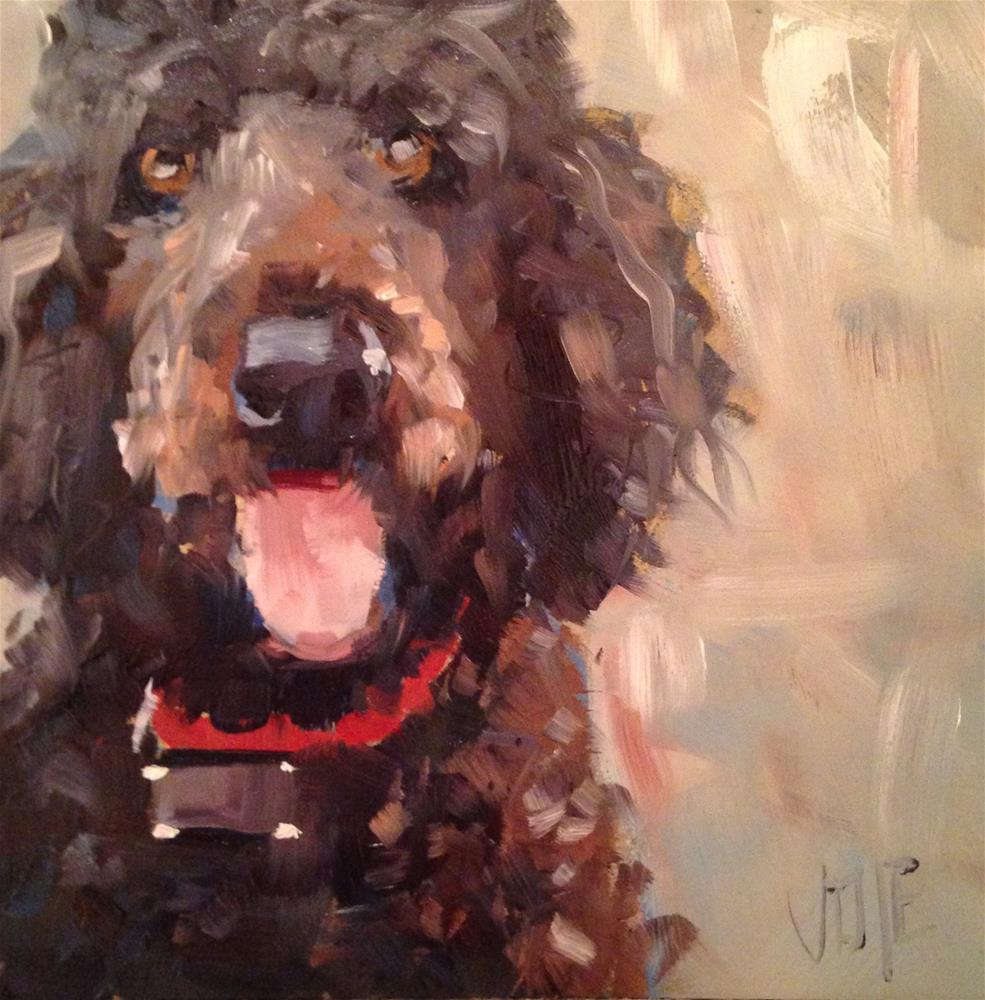 """#155 Ozzy"" original fine art by Patty Voje"