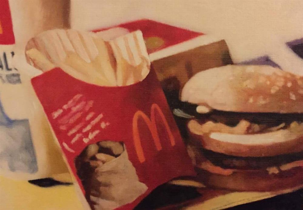"""Big Mac Meal"" original fine art by John Cameron"