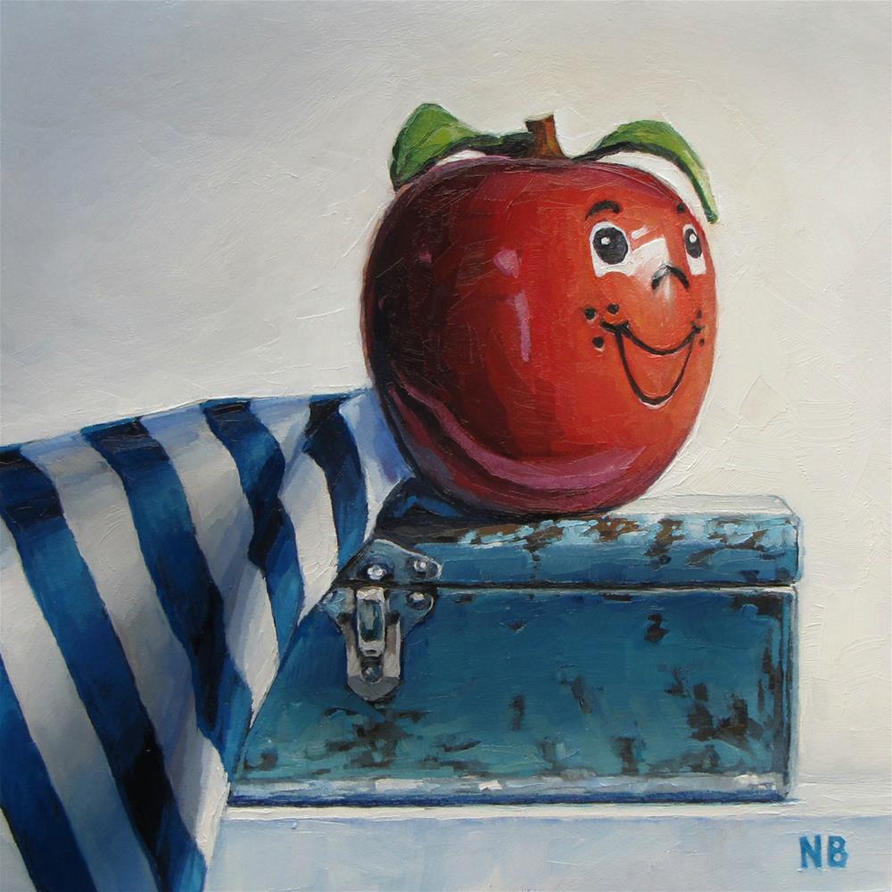 """Captain Happy"" original fine art by Nora Bergman"