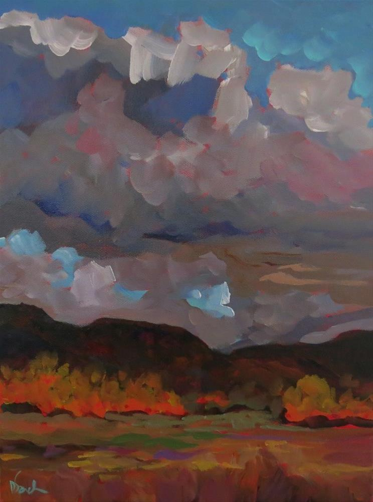 """GATHERING STORM"" original fine art by Dee Sanchez"