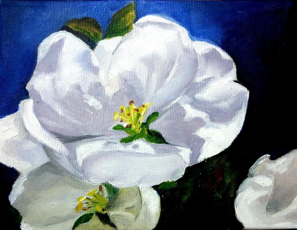 """""""Spring Blossom"""" original fine art by Laura B."""
