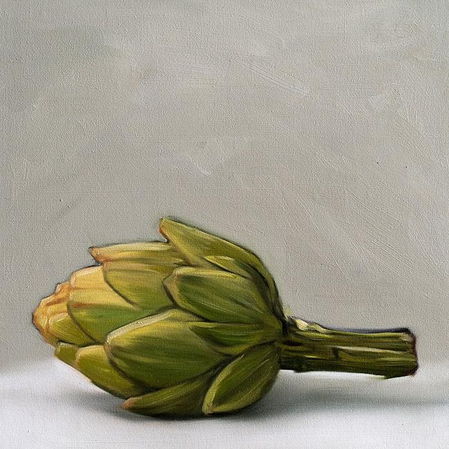 """Artichoke"" original fine art by Lauren Pretorius"