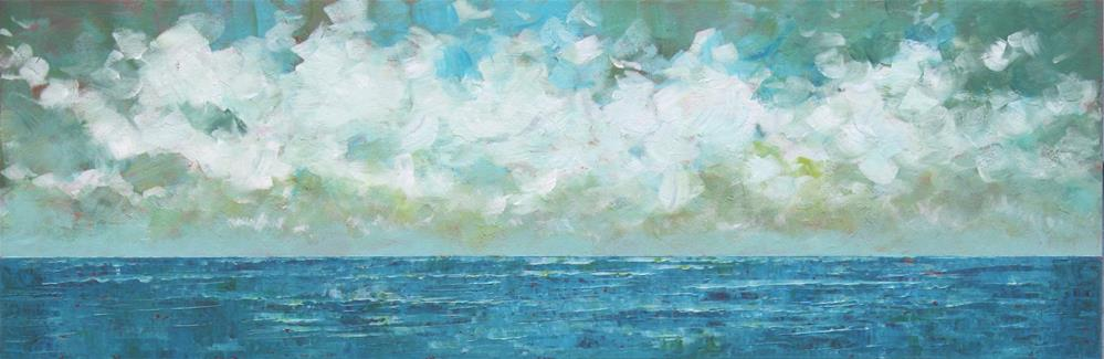 """An Ocean of Blue"" original fine art by Sage Mountain"