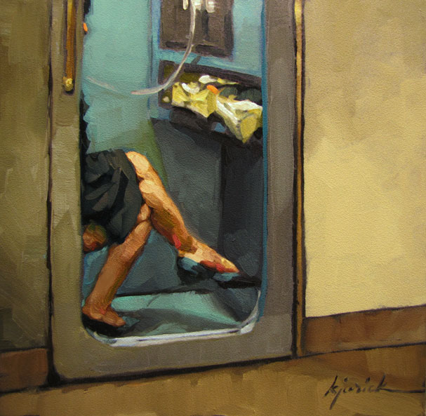 """Cellular Phone"" original fine art by Karin Jurick"