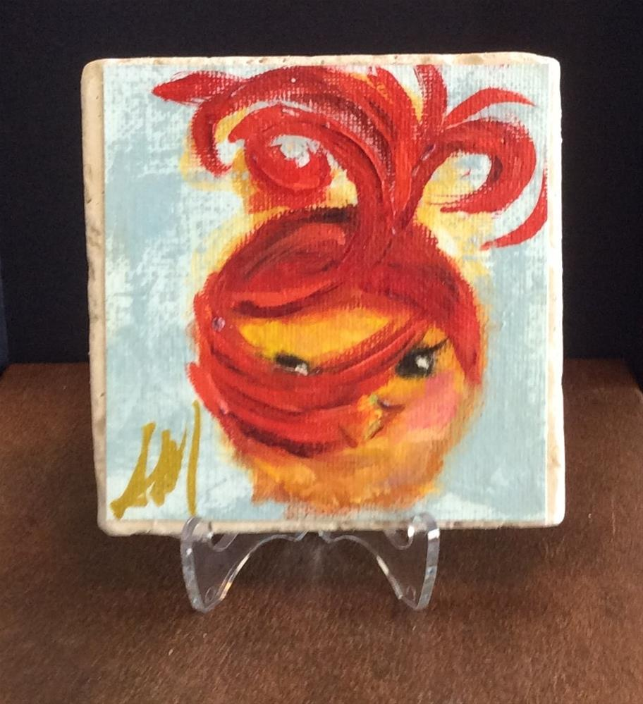 """CoCo"" original fine art by Susie Monzingo"