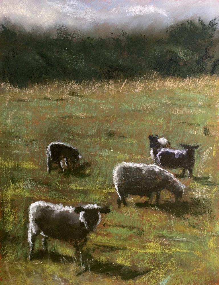 """Backlit Sheep"" original fine art by Cristine Kossow"