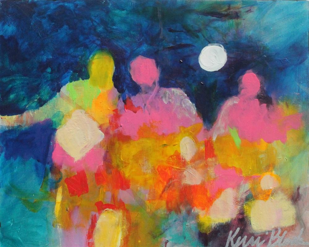 """We Walk Forward Together"" original fine art by Kerri Blackman"
