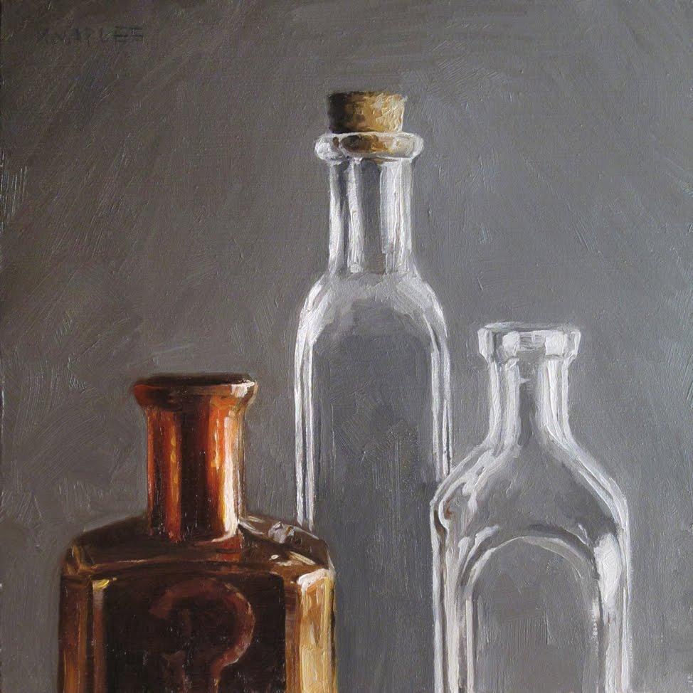 """""""Antique Tops No.2"""" original fine art by Michael Naples"""