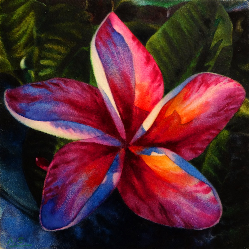 """Aloha"" original fine art by Arena Shawn"