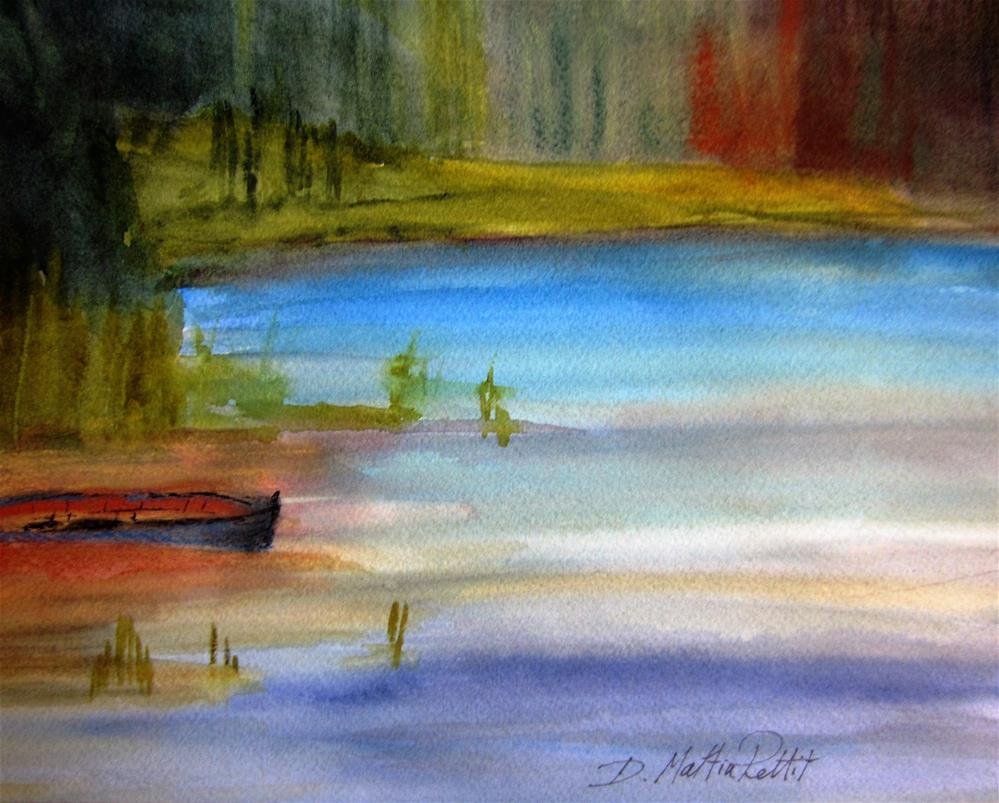 """The Secret Cove"" original fine art by Dolores Pettit"