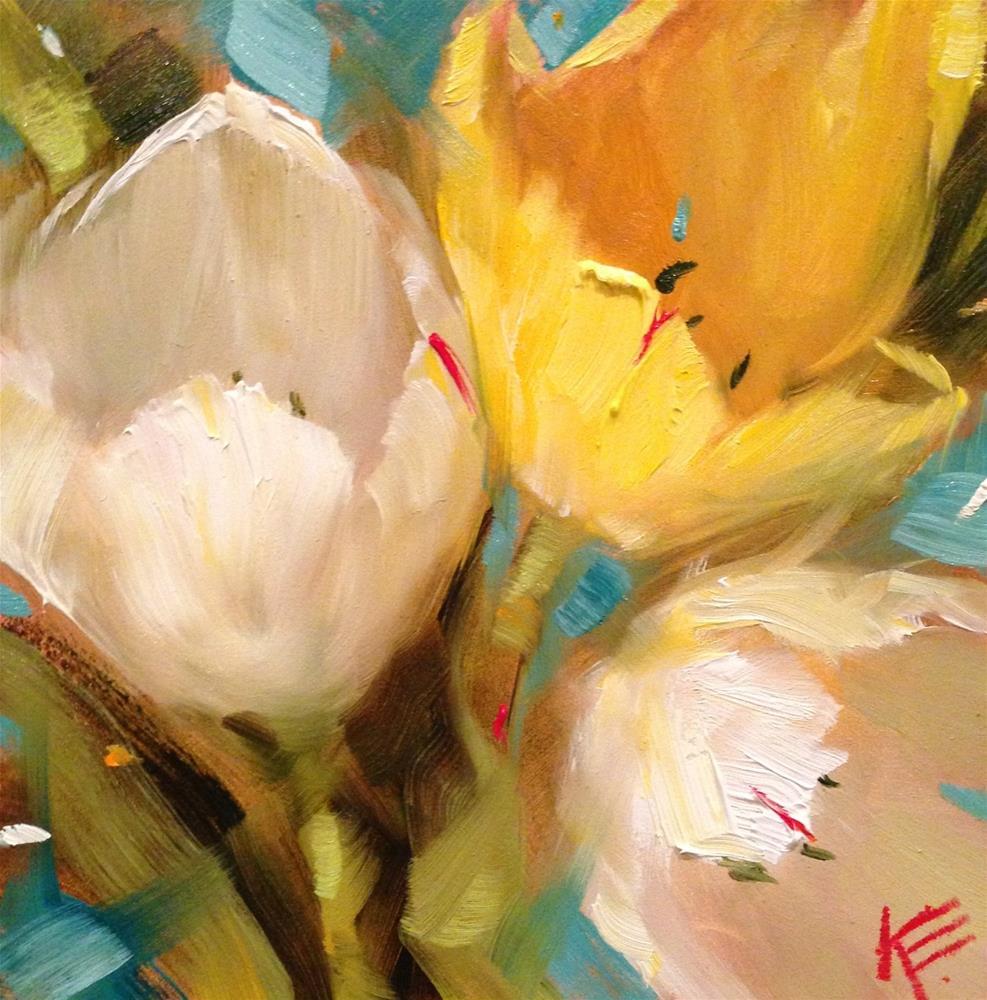 """""""All is Bright"""" original fine art by Krista Eaton"""