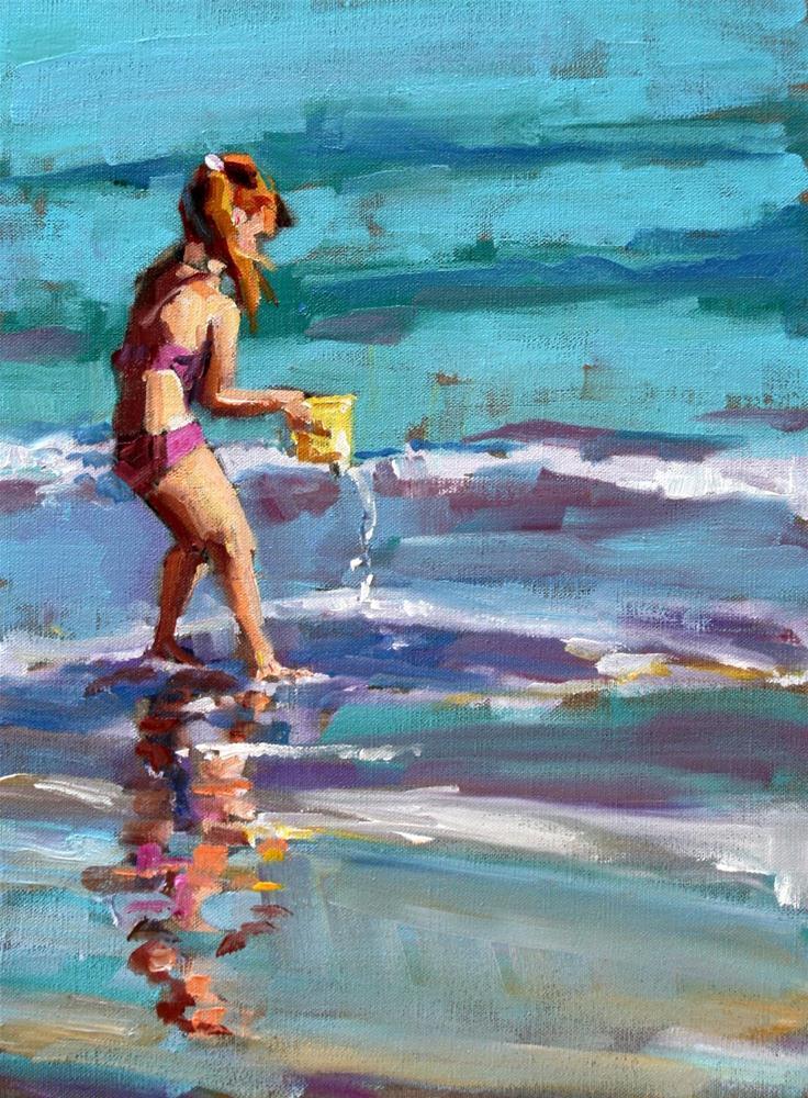 """deliberate"" original fine art by Carol Carmichael"