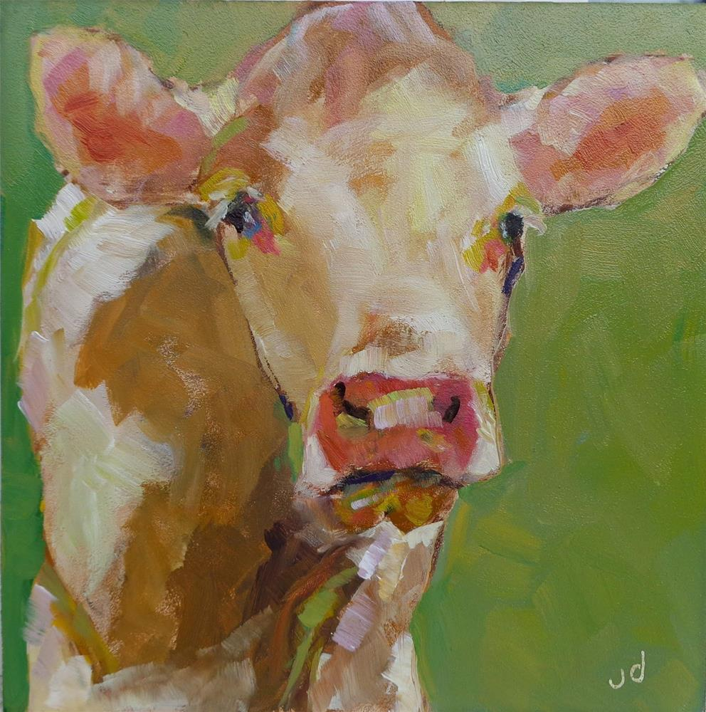 """It's me"" original fine art by Jean Delaney"