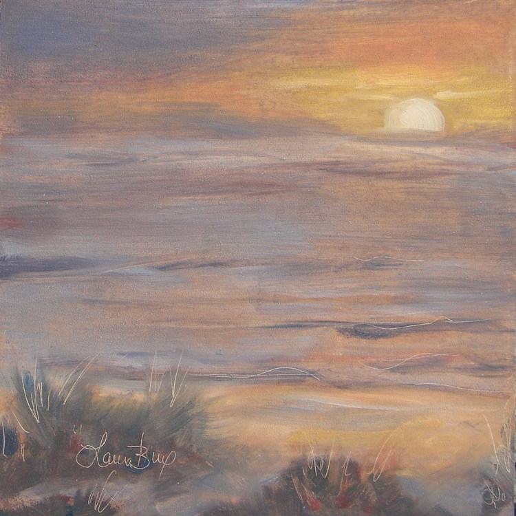 """Second Sunset 465"" original fine art by Laura  Buxo"