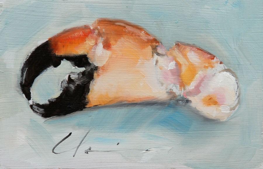 """""""Stone Claw by Clair Hartmann"""" original fine art by Clair Hartmann"""