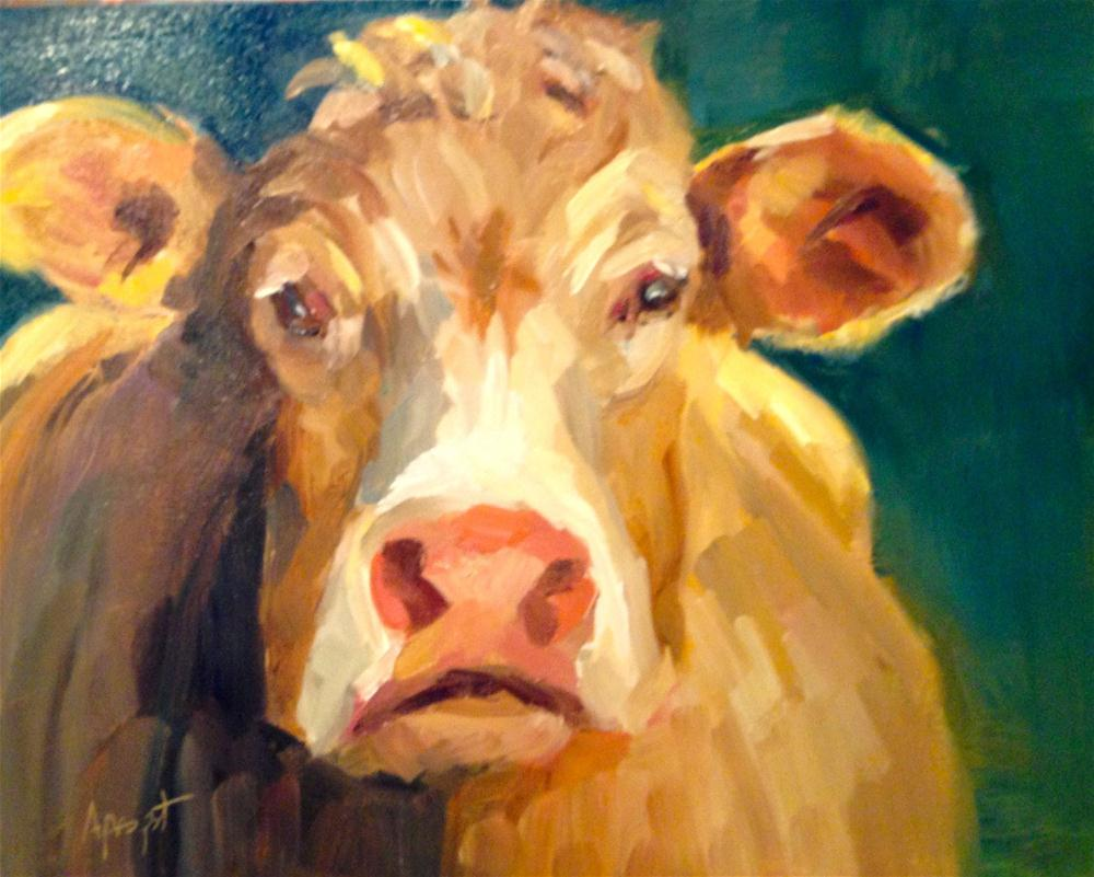 """Bessie"" original fine art by Anne Marie Propst"