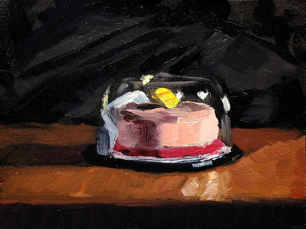"""""""Tiny Cake"""" original fine art by Chris Beaven"""