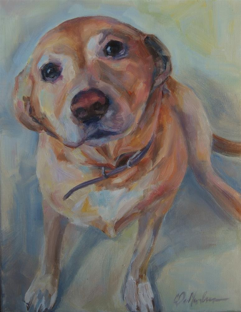 """Maxi"" original fine art by Carol DeMumbrum"