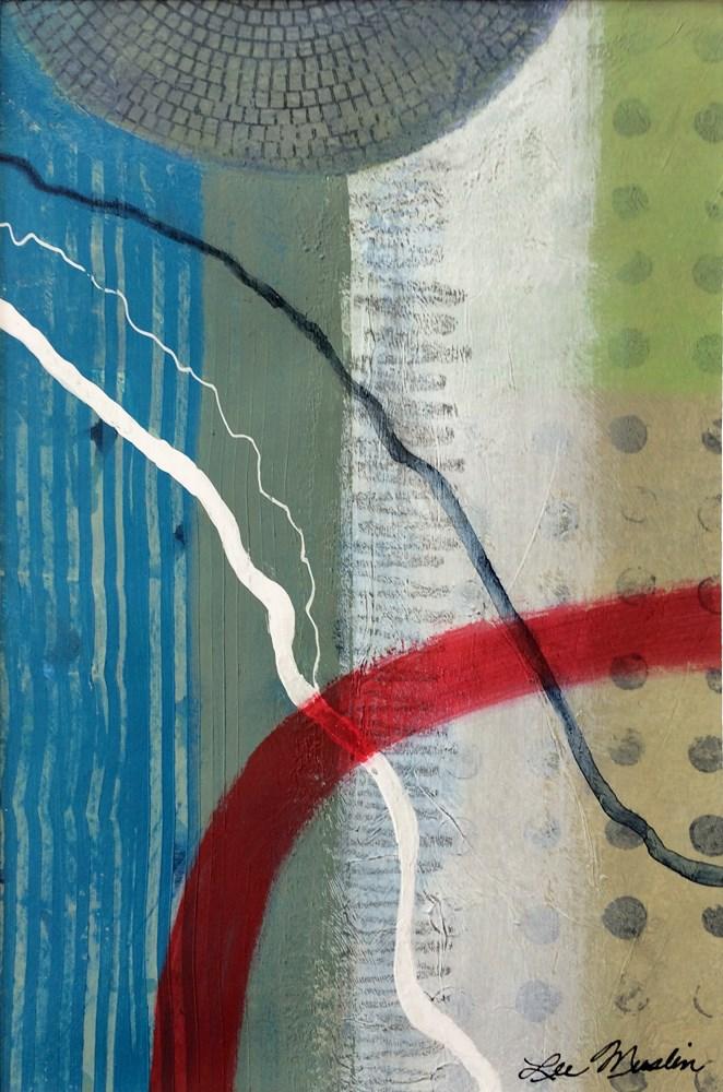 """""""Crossing Boundaries"""" original fine art by Lee Muslin"""
