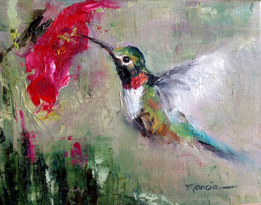 """Sweet"" original fine art by Marcia Hodges"