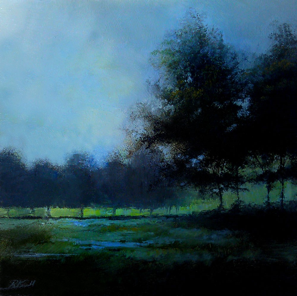 """After the Rain"" original fine art by Bob Kimball"