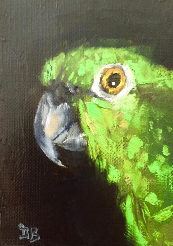 """Pretty Bird"" original fine art by Gary Bruton"