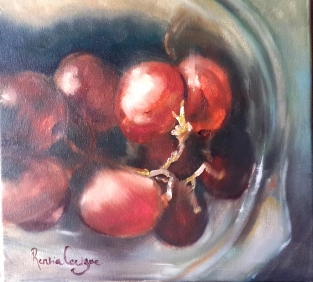 """Pinotage"" original fine art by Rentia Coetzee"