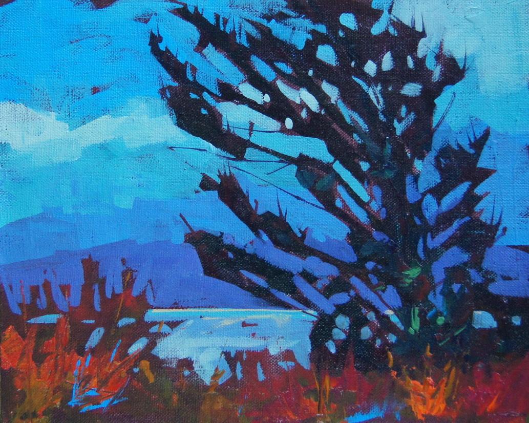 """East Wind Sketch 2"" original fine art by Brian Buckrell"