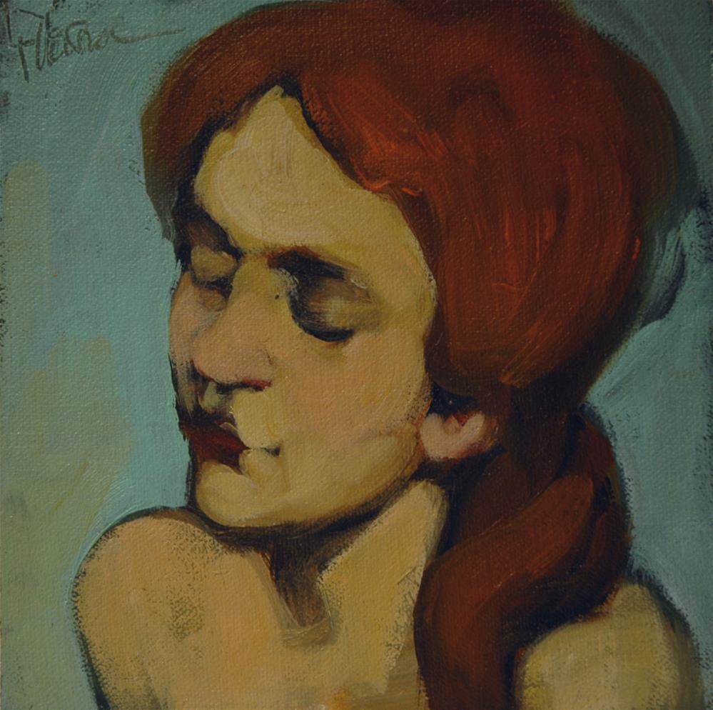 """""""Bare Shoulders"""" original fine art by Kayleen Horsma"""