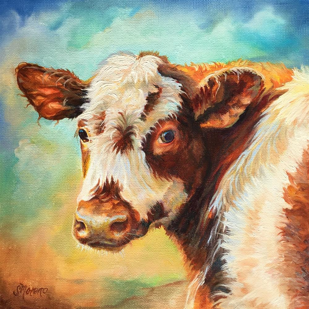 """Sunshine"" original fine art by Susan McConnell Moreno"