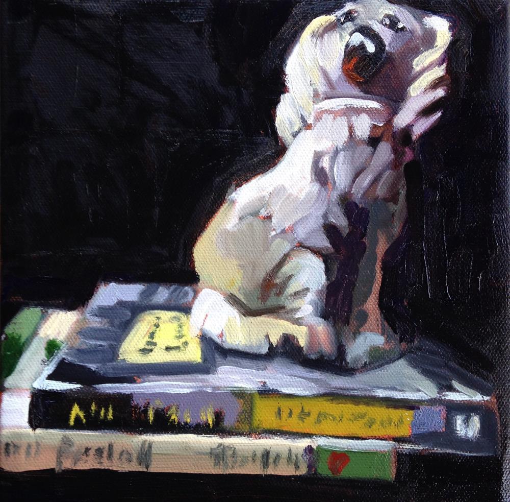 """I Just Want A Dog"" original fine art by Pamela Hoffmeister"