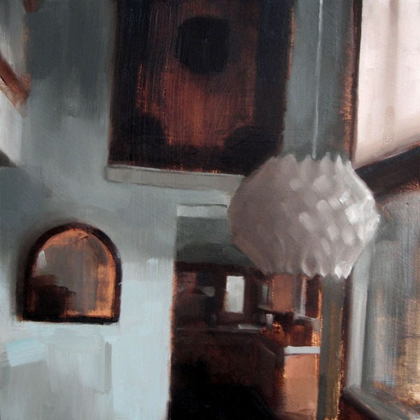 """""""Lakehouse Dining Room (no.82)"""" original fine art by Michael William"""