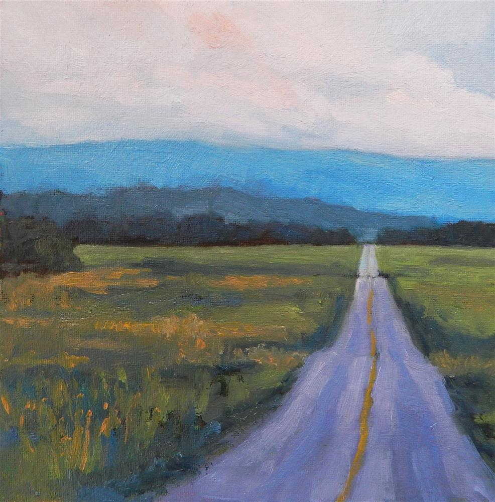 """The Road Less Travelled"" original fine art by Lisa Kyle"