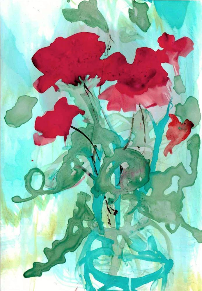 """Hummingbird"" original fine art by Kelly Alge"