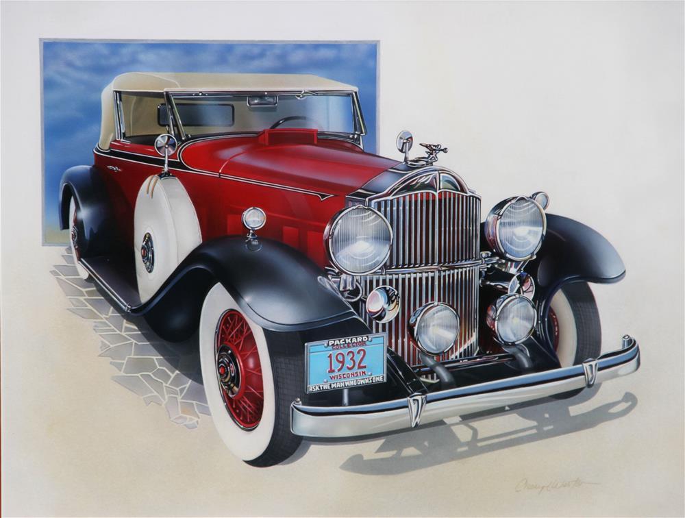 """""""Packard"""" original fine art by Cheryl Plautz"""