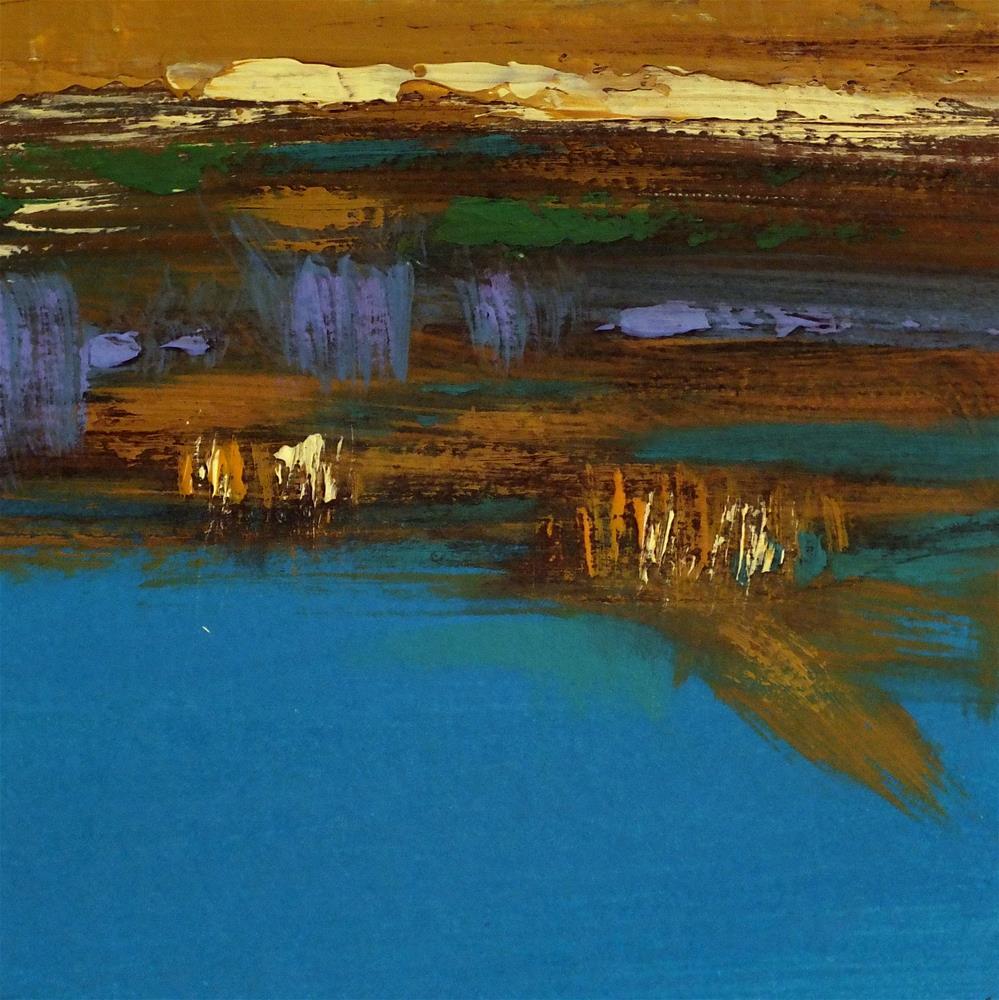 """Landscape 226"" original fine art by Ewa Kunicka"