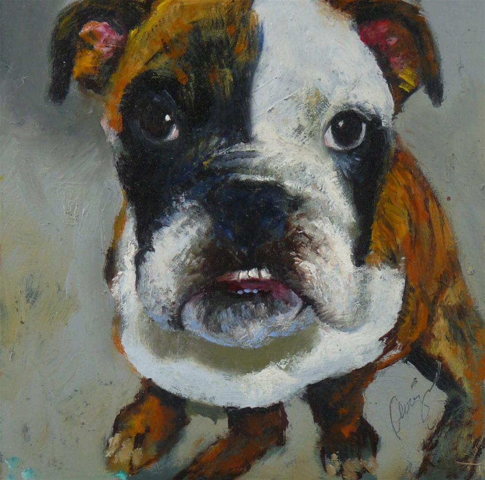 """Bella"" original fine art by Sharman Owings"