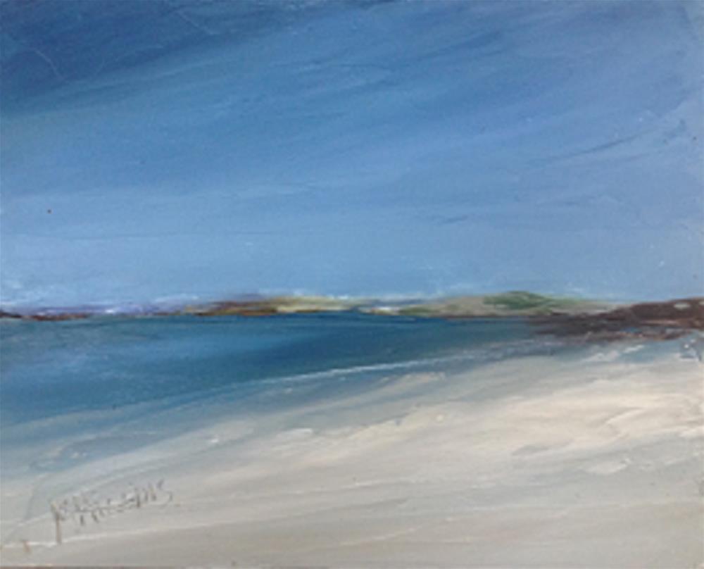 """""""Donegal Beach (#4)"""" original fine art by Marie O' Higgins"""
