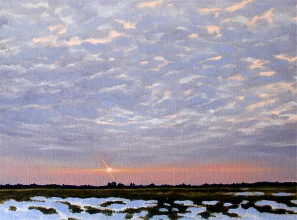 """Winter Dawn"" original fine art by Carol Zirkle"