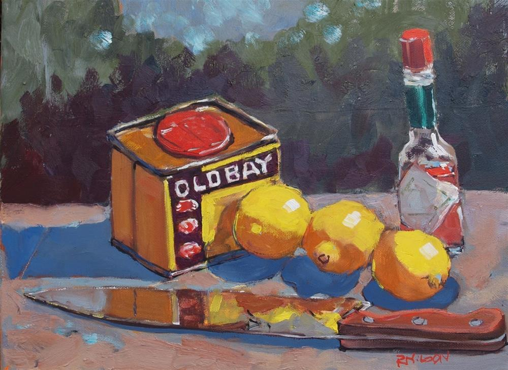"""Still Life with Lemons"" original fine art by Rick Nilson"