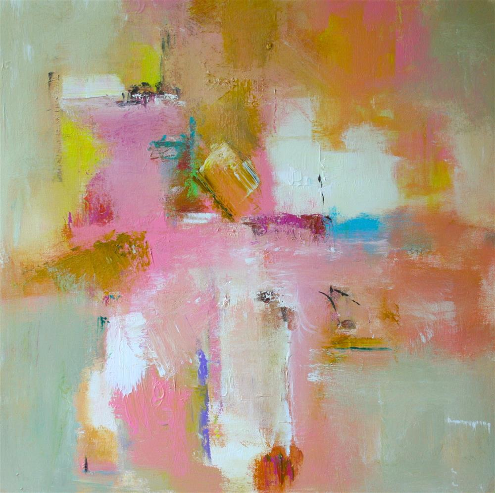 """Impress"" original fine art by Elizabeth Chapman"
