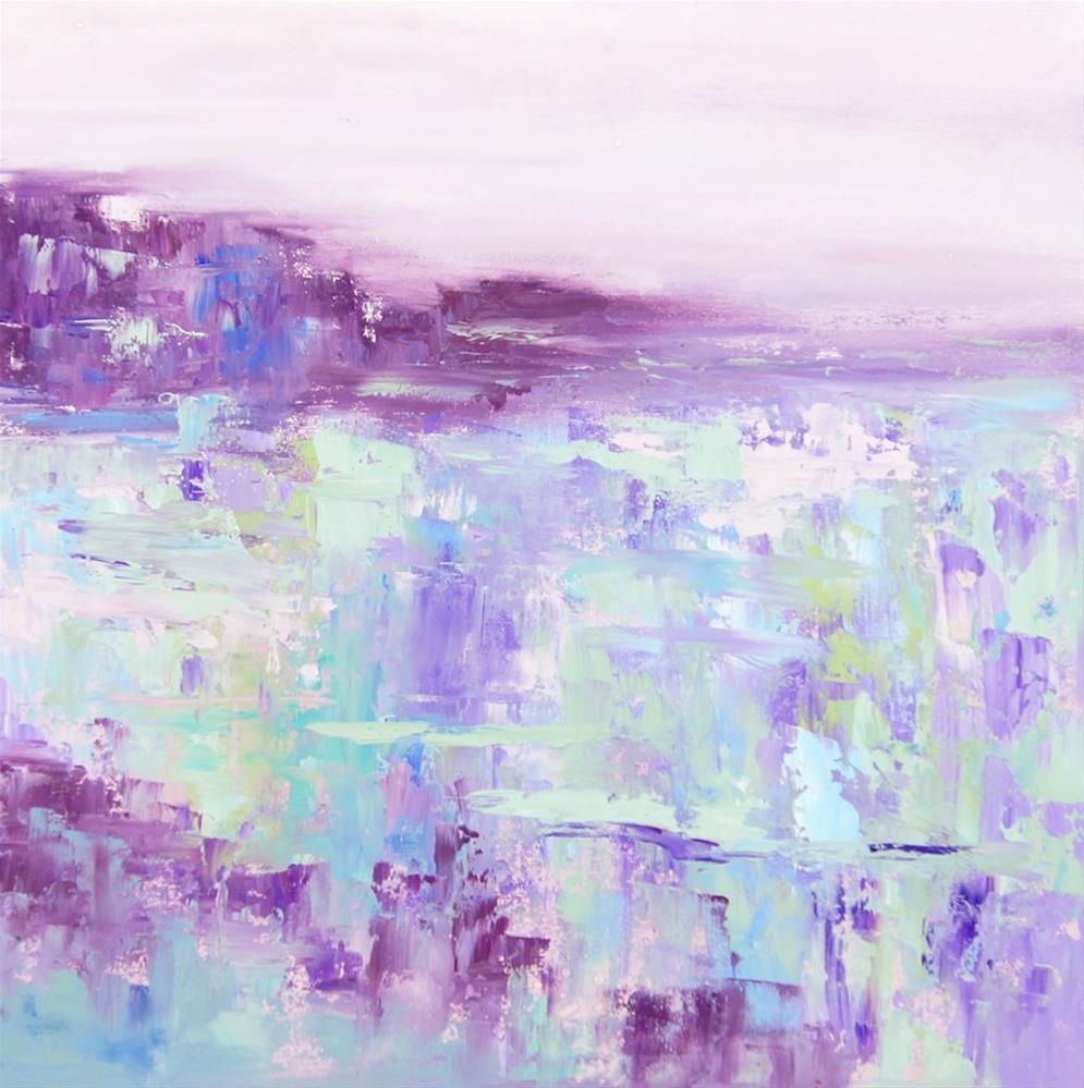 """Namibia Impressions 2 - Swakopmund Fog"" original fine art by Marion Hedger"