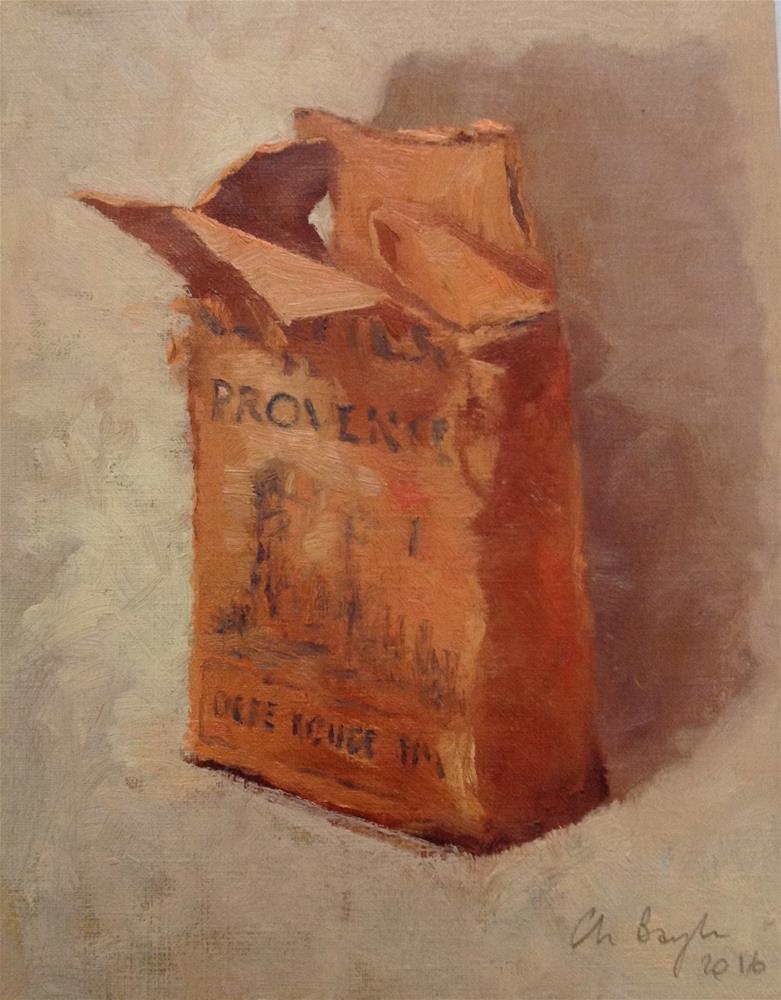 """Ocre de provence"" original fine art by Christine Bayle"