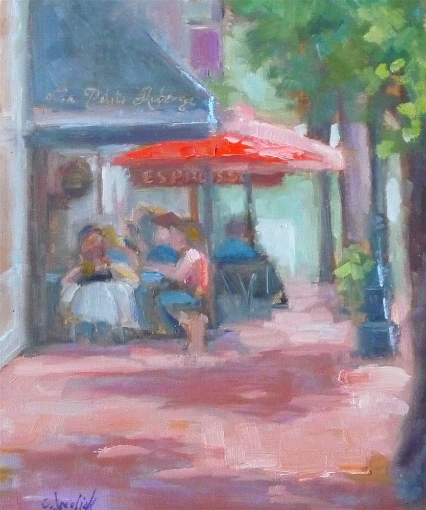 """William Street"" original fine art by Carol Josefiak"